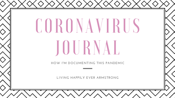Coronavirus Journal Header