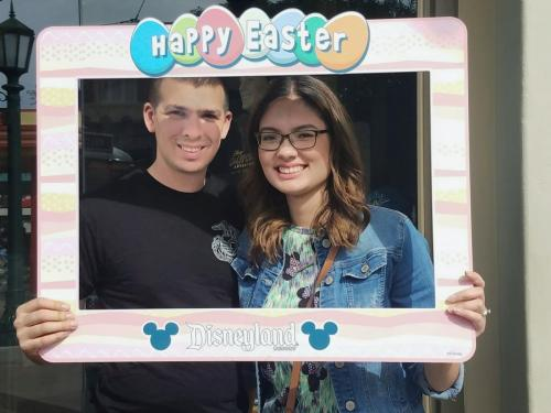 Easter at Disneyland